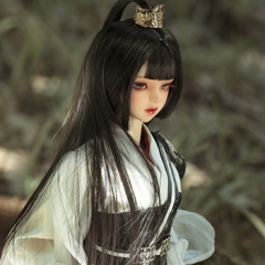 1/3Mulan ancient Chinese outfits (White version)