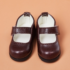 1/6 BB brown retro shoes
