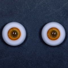 18mm  gold eye pupil