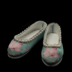 1/3 Zhenfu ancient style shoe - Lotus green